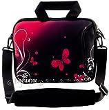 LUXBURG® 10 Zoll Schultertasche Notebooktasche Laptoptasche Tasche mit Tragegurt aus Neopren für Laptop / Notebook Computer