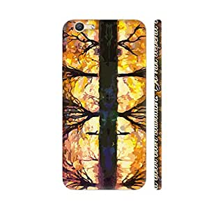 Colorpur Trees Reflection in Nature Printed Back Case Cover for Vivo Y66