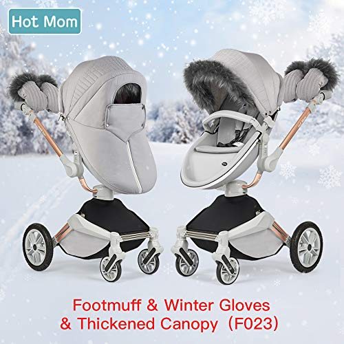 Hot Mom winterkit for Hot Mom passeggino per bambini marrone 2018