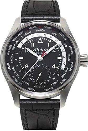 Alpina Geneve Worldtimer Manufacture AL-718B4S6 Reloj Automático para hombres Calibre de Manufactura