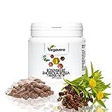 RHODIOLA Rosea Vegavero | ESTRATTO 5:1 standardizzato con Aronia, Vitamina B1 e B6 | Stanchezza Fisica e Mentale – Stress - Buonumore – Insonnia – Ansia - | Senza Magnesio Stearato | 365 capsule | Vegano e Naturale