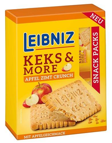 10x Leibniz Bahlsen - Keks & More Apfel-Zimt-Crunch - 155g