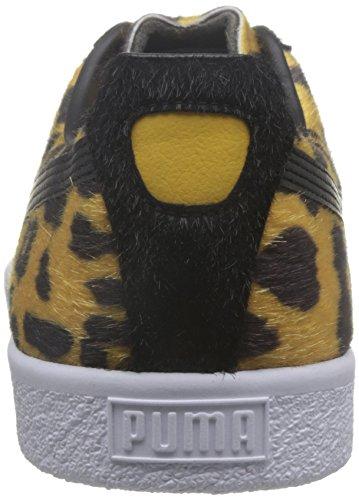 PUMA Clyde Suits Leopard Jaune