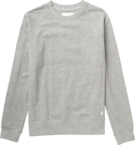 Burton Herren Pullover Canopy Crew Heather Grey