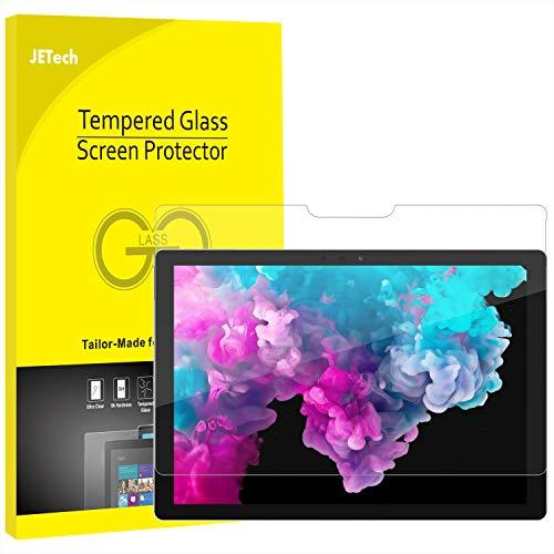 JETech Schutzfolie für Microsoft Surface Pro 6 / Surface Pro (5. Generation) / Surface Pro 4, Gehärtetes Glas Panzerglas Displayschutzfolie Gen Screen Protector
