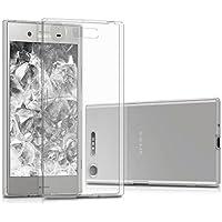 kwmobile Funda para Sony Xperia XZ1 - Carcasa Protectora de [TPU] para móvil - Cover [Trasero] en [Transparente]
