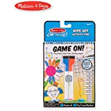 Melissa and Doug Write On Reusable Games Wipe-Off Dry-Erase Travel Activity Pad