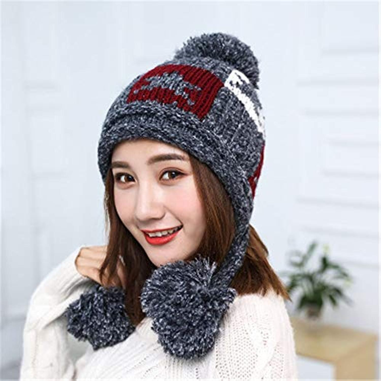 JINLULU Inverno Donna Maglia Cappello Cappello Maglia Invernale Cappelli per  Le Donne delle Signore delle Ragazze c2e769871f1f