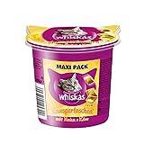 Whiskas Knusper-Taschen Katzensnacks Maxi Pack Huhn und Käse, 5 Packungen (5 x 105 g) - 3