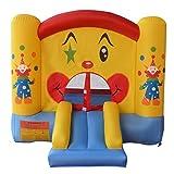 Château bouffon gonflable clown pour enfant aire de jeux trampoline NEUF jeux en plein air