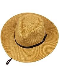 Straw hat Cappello Estivo Parasole Cappello Estivo Cappello da Cowboy  Cappello da Sole Pieghevole Cappello da 530f9252ee5f