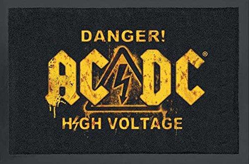 Felpudos Música ACDC Danger