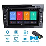 Android 8.1 Car Stereo DAB+(Included) for Opel Antara Astra Corsa Meriva Vectra Zafira 7Inch Sat Nav Canbus/IPS panel/Bluetooth/WIFI/4G/Multi-touch Screen/GPS/DVD Player/Touch Screen/AUX