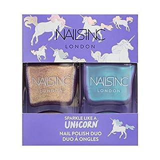 Nails Inc Nail Polish Duo, Sparkle Like a Unicorn