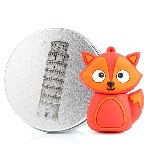 anvorr-chiavetta-usb-3d-volpe-fox-anvorr-chiavette-usb-unidad-flash-memory-stick-pen-drive-rojo-torr