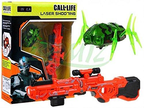Laser Tag Set Call Of Life WINYEA Laserpistolen Nanorobot - Orange