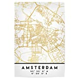 artboxONE Poster 45x30 cm Städte Amsterdam Holland Street
