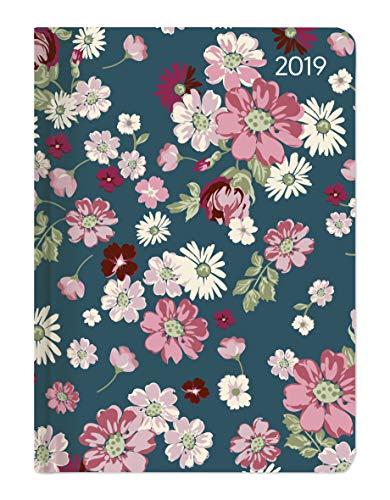 Ladytimer Flower Love 2019 - Taschenplaner / Taschenkalender A6 - Weekly - 192 Seiten - Notizen