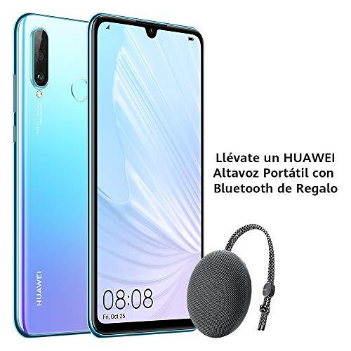 Huawei P30 Lite - Smartphone de 6.15' (WiFi, Kirin 710, RAM de 6 GB, memoria de 256 GB, cámara de 48+2+8 MP, Android 9) Breathing Crystal + CM51 Gris