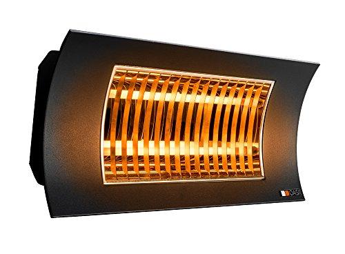 Radialight SQBAL001 Lampada Infrarossi OASI 2000W Nera