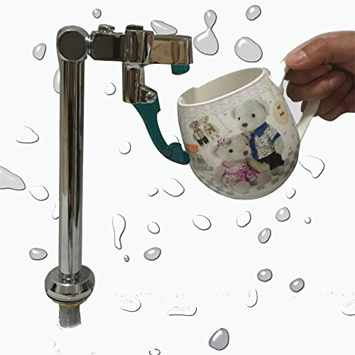 Push-Hahn Hahn Eisbecher Dessert Wasserhahn mit Leitungswasser bar , white