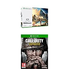 Xbox One S - Consola 500 GB Assassin's Creed Origins + Call of Duty WWII