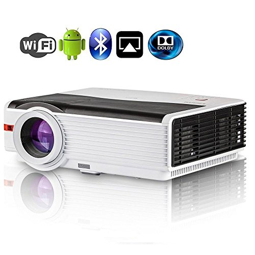 Proiettore CAIWEI LED Wifi HD 1080P Home Cinema...
