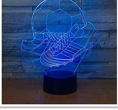 Neue Babyzimmer Geschenk Lampe Kreuz Grenze 3D Babyzimmer Nachtlicht Mode Farbe Touch Home Decoration Benutzerdefinierte Schuhe 3D Leuchten Le