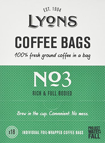 Lyons No.3 (All-Day) Coffee Bags 125g (Case of 4) 51aVsroY6XL