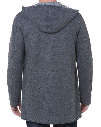BLZ jeans - Graue Kapuzenmantel Grau