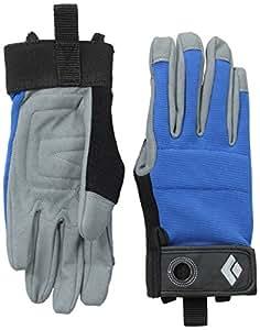 Black Diamond Crag Handschuhe Zum Klettern/Atmungsaktiver Kletterhandschuh mit Klettverschluss sowohl Zum Sichern als Auch Zum Alpinklettern/Blau Unisex, Größe: XS