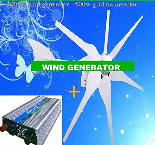 ator +500w DC 15V-30V wind grid tie inverter output AC110v-190v/AC180V-260V ()