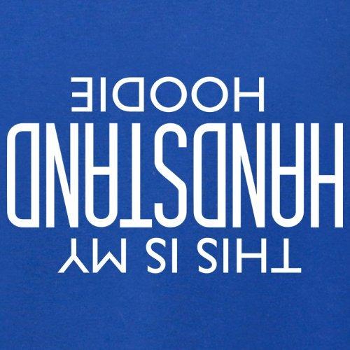 Das ist mein Handstand Hoodie - Unisex Pullover/Sweatshirt - 8 Farben Royalblau