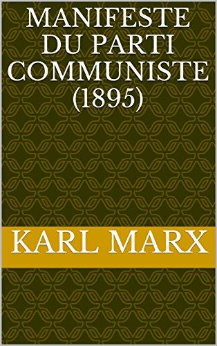 Manifeste du Parti Communiste (1895)