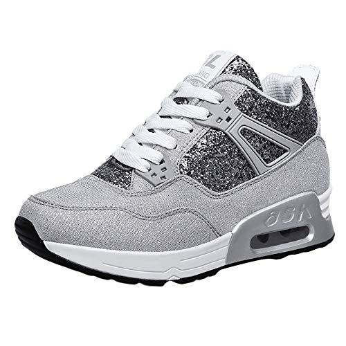 Culater Zapatillas Mujer Moda para Mujeres Aumentar Zapatos Casuales Usar Zapatos Deportivos...