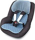 PRIEBES FELIX Sitzauflage für Autokindersitz Gruppe 1 | Universal Sitzeinlage für Kindersitze |...
