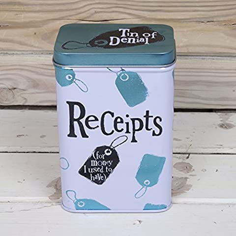The Bright Side Receipts Tin (New Design for