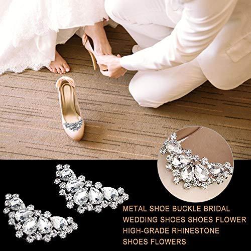 Rstant Elegantes Design Strass Schuhclips Schuh Dekoration Reize Für Hochzeitsfeier