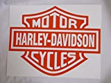 Pegatinas Harley Davidson 1pieza Pegatinas arco 20X 30cm (DIN a 4Tamaño)