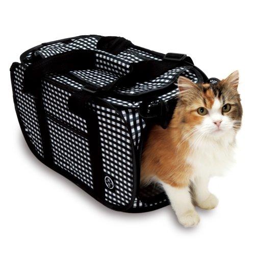 猫壱 ポータブル キャリー 黒
