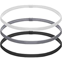 NETUME 3PCS Elastic Sports Headbands for Women Men, Mens Thin Sport Hair Band Non Slip, Slim Silicone Grip Sport…