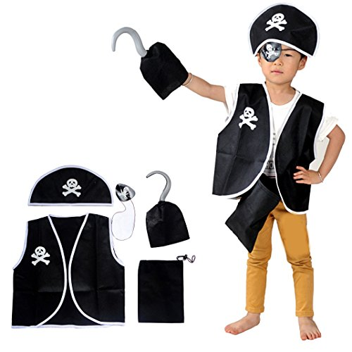 Halloween Kinder piraten kleidung für Halloween Party Cosplay Kinder Kinderpiratenkleidung Kleider