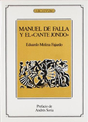 Download Manuel De Falla Y El Cante Jondo Pdf Franklynherb