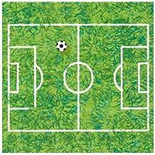 Servilleta de papel 33x33cm 3 capas Diseñ Campo de Fútbol