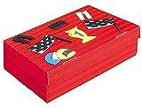 Unbekannt Bastelset Schulbox / Kreativbox Formel 1 Auto rot Autos Junge