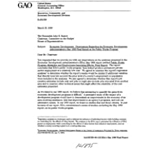 Economic Development: Observations Regarding the Economic Development Administration's May 1998 Final Report on Its Public Works Program