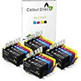 20 (4 Ensembles + 4 Noir) Colour Direct Compatible Cartouches d'encre Remplacement Pour HP 903 / HP 903XL - HP Officejet Pro 6960 All-in-One, 6970 All-in-One, 6975 All-in-One Imprimantes ( T6L99AE T6M03AE T6M07AE T6M11AE )