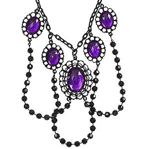 WIDMANN?Collar Gargantilla de cuentas Womens, morado, talla única, vd-wdm2969V