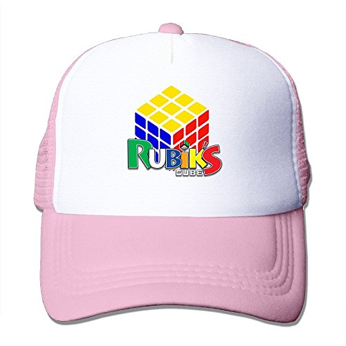 Cyska Adulto Soporte de Billed Sombreros Cubo de Rubik Pesca Cap Sombreros Negro