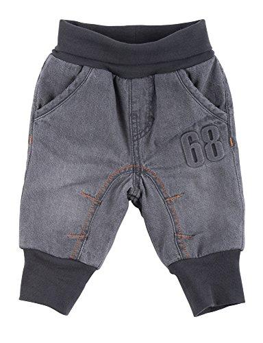 Sigikid Jungen, gefüttert, Baby Jeans, Grau (Grey Denim 20), 80